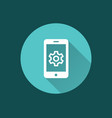 mobile security icon for graphic and web design vector image vector image