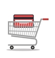 online shopping e-commerce isolated vector image