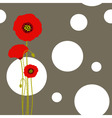 Poppy wallpaper vector | Price: 1 Credit (USD $1)