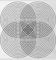 tetrad vector image vector image