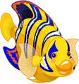 angel fish vector image vector image