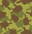 Army pattern to Military camouflage texture vector image