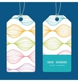 colorful horizontal ogee vertical stripe vector image vector image