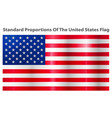 image american flag vector image vector image
