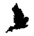 map england vector image