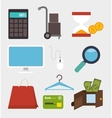 Shopping offers and sales vector image vector image