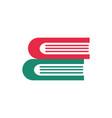 stack books read education school icon design vector image