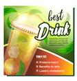 tea best drink promo advertising banner