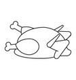 Whole chicken icon image