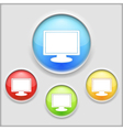 Icon of a computer vector image