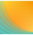 Abstract background with blue paper curves vector image vector image