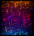 abstract futuristic board high computer vector image vector image