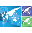 Abstract world map vector | Price: 1 Credit (USD $1)