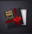 black friday sale golden glitter sparkleopen vector image