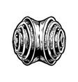 franzbroetchen vector image