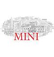 mini word cloud concept