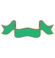 ribbon green sign 202 vector image vector image