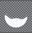 sponge foam icon realistic style vector image