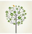 Technics a tree vector image vector image