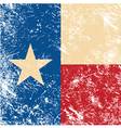 Texas retro flag vector | Price: 1 Credit (USD $1)