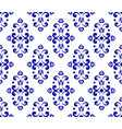 abstract floral ornament backdrop damask style vector image vector image