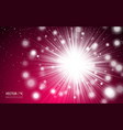 red love romantic red abstract with lights vector image vector image