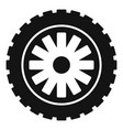 rubber protector icon simple style vector image vector image