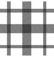 striped black and white vertical horizontal vector image vector image