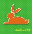 Easter greeting card EPS10 vector image