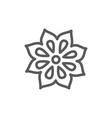 badian grains line icon vector image vector image