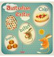 Easter Australian Card vector image vector image