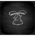 Hand Drawn Bell vector image vector image