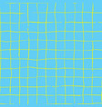 Hand drawn checkered grip seamless pattern
