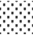 safe pattern seamless vector image vector image
