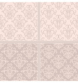 Vintage pastel creamy seamless pattern vector image vector image