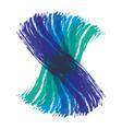 brush art paint creative color design image vector image