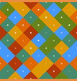 70s seamless colorful repetitive pattern vector image vector image