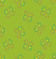 butterflies on green vector image vector image