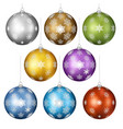 christmas toys set vector image