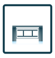 Cinema theater auditorium icon vector image vector image