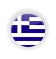 Greece icon circle vector image vector image