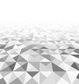 Perspective triangular surface vector image vector image