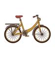 Vintage bike transport icon vector image vector image