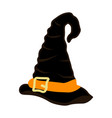 witch party costume magic hat vector image vector image