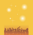 dancing people at a party vector image