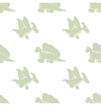 funny dinosaurs on a white background vector image vector image