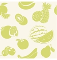 Green fruits seamless pattern vector image vector image