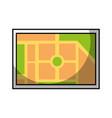 map navigation web application destination vector image vector image