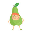 pear boy vector image