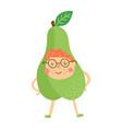 pear boy vector image vector image